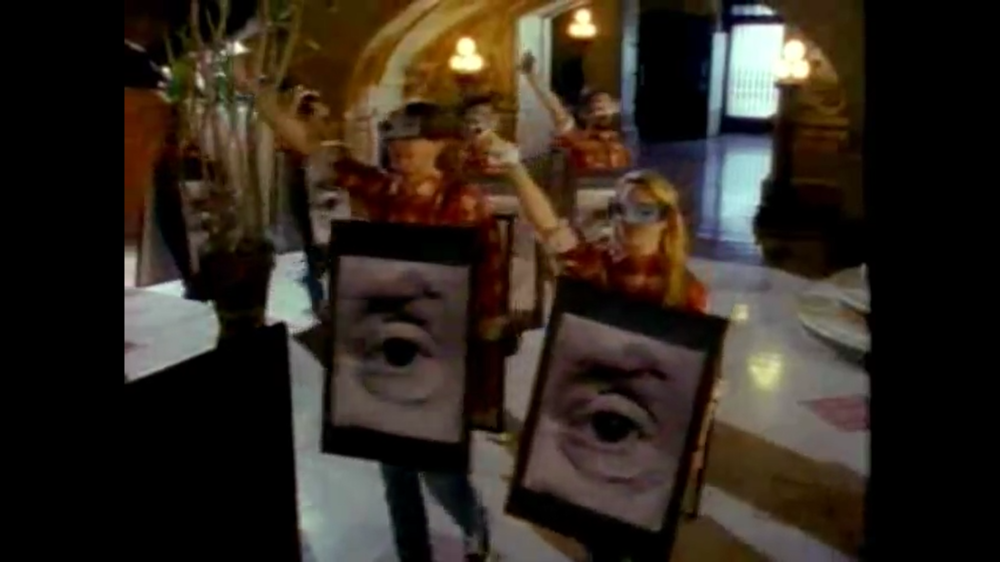 Screenshot from 'Birdhouse in Your Soul' (Official video) by They Might Be Giants.