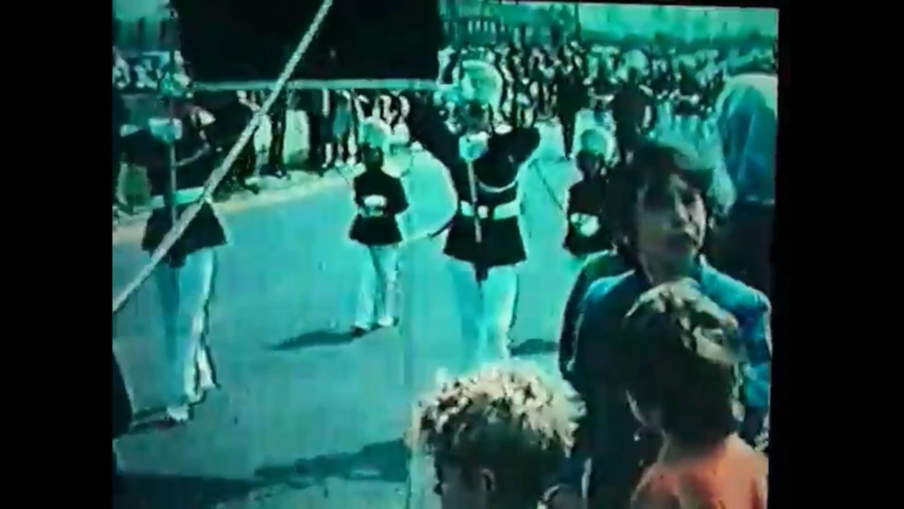 Archive footage of Juvenile Jazz Bands, c. 1972.